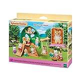 SYLVANIAN FAMILIES-La cabane Luke bébé écureuil Roux Mini-Univers, 5318, Multicolore