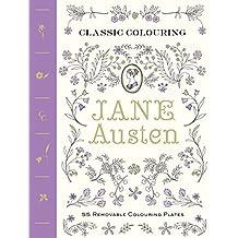 Classic Coloring: Jane Austen: 55 Removable Coloring Plates