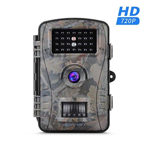 """Preisvergleich Produktbild apeman [Upgraded] Wildkamera Fotofalle 1080P Full HD 12MP Jagdkamera Weitwinkel Vision Infrarote 20m Nachtsicht Wasserdichte IP66 Überwachungskamera mit 2.4"""" LCD Display"""