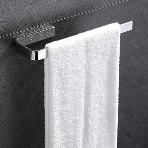 ubeegol Edelstahl Handtuchhalter 24 cm Badetuchstange wand Tuchhalter für Schrankmontage Badetuchhalter Wandmontage Handtuchstange Bad und Küche Papierrollenhalter