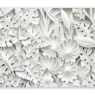 murando Fotomurales 50×35 cm XXL Papel pintado tejido no tejido Decoración de Pared decorativos Murales moderna Diseno Fotográfico blanco f-B-0038-a-a