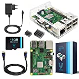 V-Kits By Vilros v-kits Komplettes Anfänger-Set RASPBERRY PI 3 Model B + (Plus) – Edition Plug gehabt