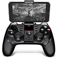 Shuzhen,PG - 9077 manija de Gamepad inalámbrica Bluetooth(Color:Negro)