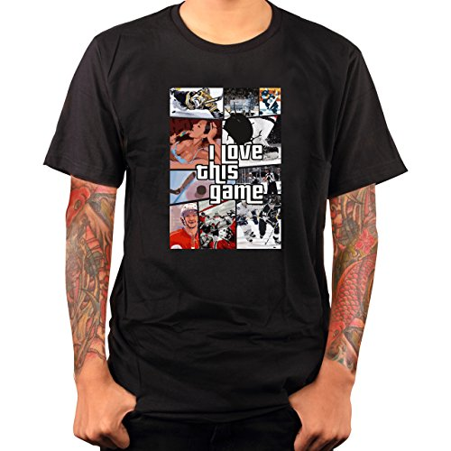 I Love this Game GTA Eishockey | Fun | T-Shirt