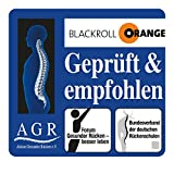 Faszienrolle Blackroll Orange PRO