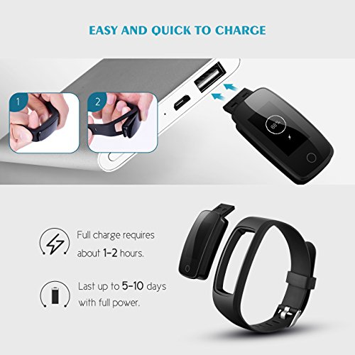 Fitness Tracker, Mpow Bluetooth 4.0 - 7