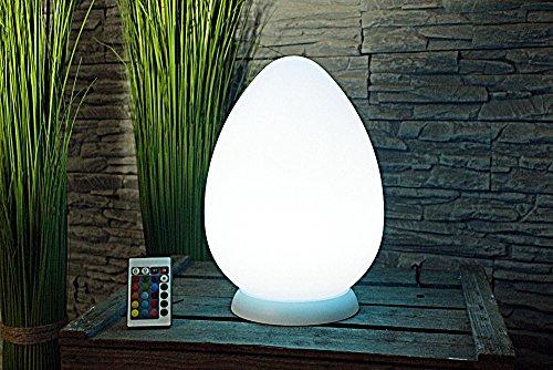 Ei-lampe (Arnusa Oasis Lights Egg 28 cm Tischleuchte Nachtlicht Deko LED Ei Lampe Leuchte)