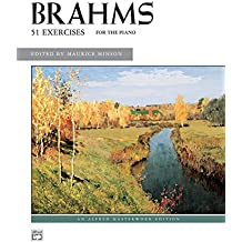 Brahms 51 Exercises for the Piano