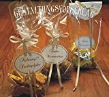 das-label |25 x Geschenktüten Klarsichtbeutel 10 x 6 x 28 cm sehr stabil 40 µ | selbst Befüllen | hochwertige Folie |für Adventskalener |Keks- und Pralinenverpackung | Lebensmittelecht