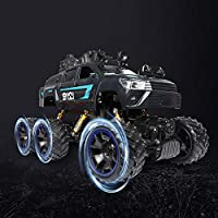 Price comparsion for Mogicry Wireless Six Wheel Remote Control Car Off Road RC Cars 2.4GHz Radio Controlled Four-wheel Drive Variable Speed Driving Rechargeable Battery Boys Gift for kids 3+