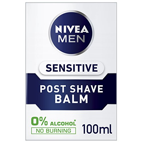 Nivea men sensitive post shave balm, 6 x 100ml