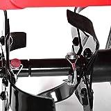 HECHT Benzin-Gartenfräse 746 Motor-Hacke - 4