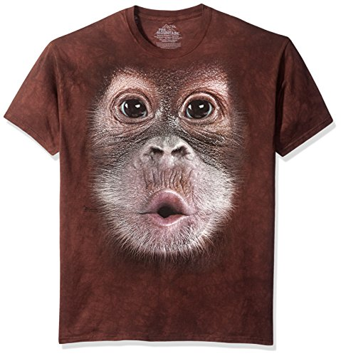 The Mountain Maglietta Big Face Baby Orangutan Adulto Unisex M