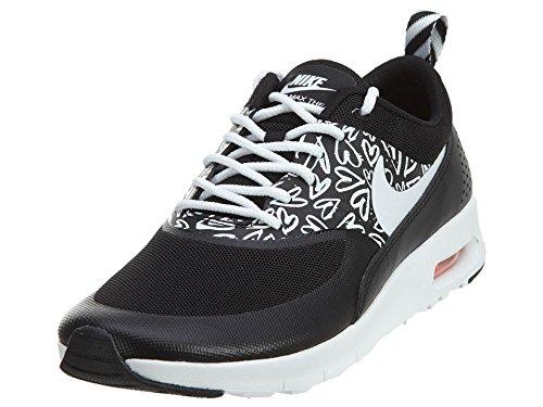 Nike Schuhe Air Max Thea Print (GS) black-white-lava glow (834320-002)