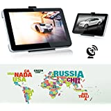 "Excelvan 7"" LCD Ecran tactile GPS Auto Voiture Traceur GPS Navigation Embarquée Cartographie Europe"