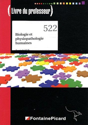 Biologie et physiopathologie humaines Tle ST2S : Livre du professeur