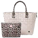 Handed By Shopper SafeRi große Einkaufskorb L Korb incl. kl.Tasche recycle