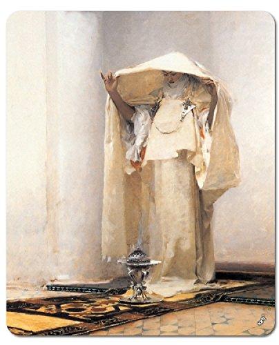 1art1 93631 John Singer Sargent - Der Rauch Von Ambra, 1880 Mauspad 23 x 19 cm - 1880 Portrait