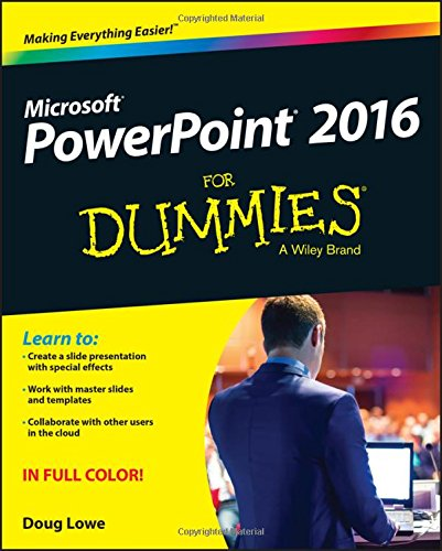PowerPoint 2016 For Dummies por Doug Lowe