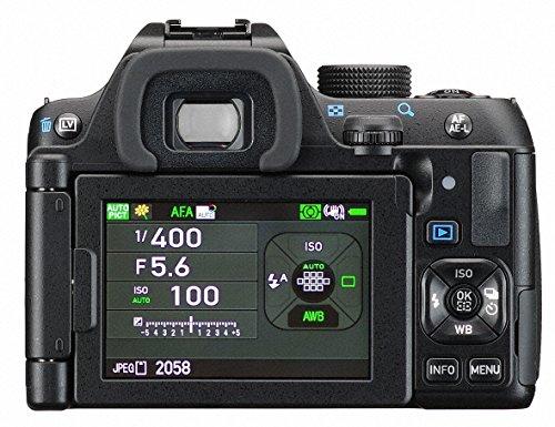 Pentax-K-70-kit-Obiettivo-Sensore-CMOS-APSC-da-24-mp-Monitor-LCD-da-3-Nero