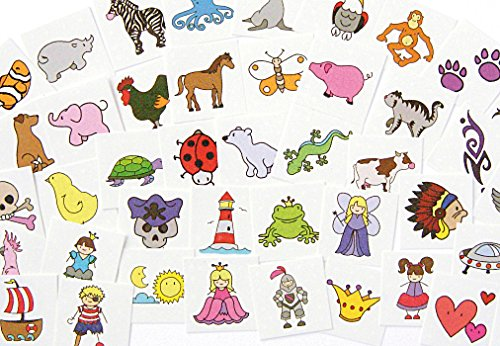 Eduplay Tattoo Set 50er Set für Kinder