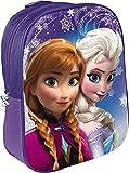 Zaino 3D Bambina Frozen Anna Ed Elsa Disney