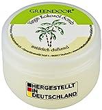 Greendoor KÖRPERPEELING Kokosöl VIRGIN 200ml, mit nativem Cocosöl, natürlicher frischer Kokosnuss-Duft, Natur-Peeling ohne Parfum, Anti-Aging, Kokos Sugar-Scrub gegen Cellulite, vegane Naturkosmetik