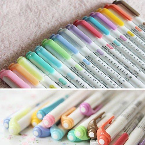 15-color-full-set-zebra-mildliner-soft-color-double-sided-highlighter-marker-by-zebra