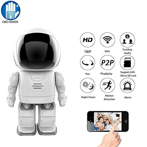 OBO HANDS Roboter 960 P 2MP IP Kamera WIFI Uhr Netzwerk CCTV HD Baby Monitor Fernbedienung Home Security Nachtsicht Zwei-wege Audio