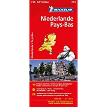 Michelin Niederlande: Straßen- und Tourismuskarte (MICHELIN Nationalkarten)