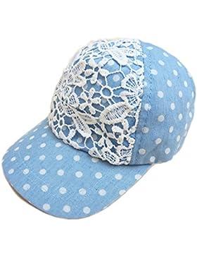Gifts Treat Sombrero de gorra de beisbol para niñas Sombreros de sol para niños Sombreros de playa con encaje...