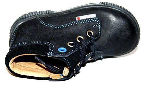 Richter Kinderschuhe , Chaussures de ville à lacets pour garçon Bleu Bleu Bleu - Blau (atlantic 2760)