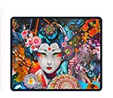 Gaming Mouse Pad/Mat with Smooth Silk Surface Stitched Edges, 11.8 X 9.85 Inches - Corel Painter
