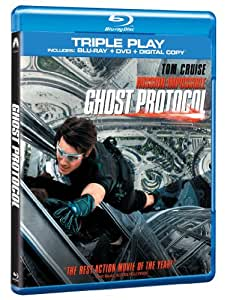 Mission Impossible: Ghost Protocol - Triple Play (Blu-ray + DVD + Digital Copy) [Import anglais]