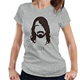Dave Grohl Music Icon Silhouette Women's T-Shirt