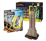 CubicFun Puzzle 66 Teile - 3D Puzzle - Empire State Building - Schwierigkeit: 6/8