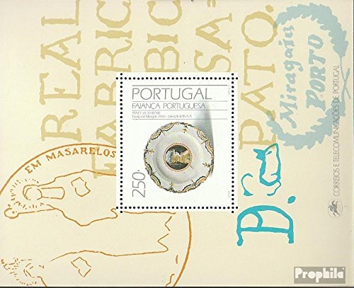 Prophila Collection Portugal Block76 (kompl.Ausg.) 1991 Fayencen (Briefmarken für Sammler)