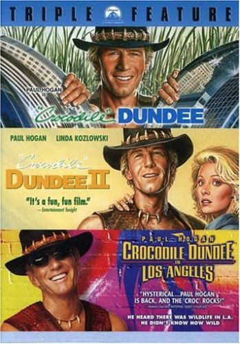 Crocodile Dundee / Crocodile Dundee II / Crocodile Dundee in Los Angeles [3 DVDs]