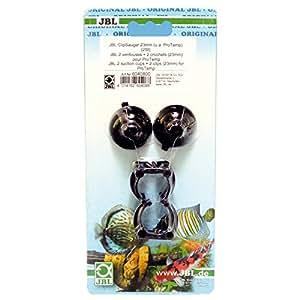 Jbl 2 ventouse clip pour aquariophilie 23 28 mm for Vente aquariophilie