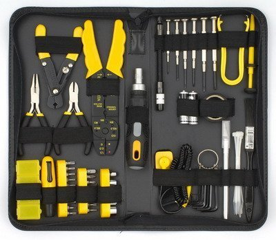 NEW! Sprotek 58 Piece Laptop Computer PC Repair Tool Kit