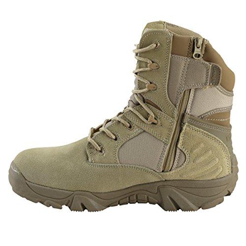 Kombat UK Herren Tactical Pro Stiefel Beige - Beige
