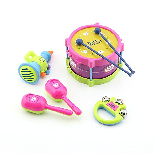 5-pcs-baby-educational-musical-instruments-toy-set-drums-handbell-trumpet-cabasa
