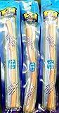 Al-Khair Natürliche Frische Moist Vakuumverpackt 8 Miswak (3 Sticks) - Zahn und Zahnfleisch Pflege (natürliches Aroma)