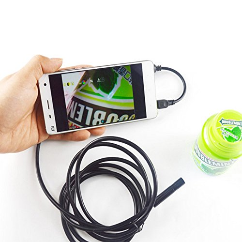 2 0 mp endoscope endoscope pour t l phones samsung galaxy for Miroir 2 metre