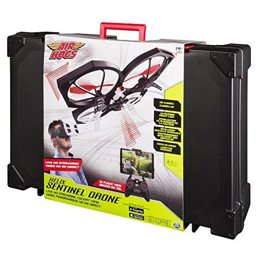 Spin Master 6027611 - Air Hogs - Helix Sentinal Drohne - Livestream Video