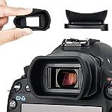 Kiwifotos oculare per Canon EOS 5D Mark IV, 5D Mark III, 5DS, 5DS R, 1D X Mark II, 1D X, 1Ds Mark III, 1D Mark IV, 1D Mark III, 7D Mark II, 7D Viewfinder sostituisce Canon Eg Eye Cup