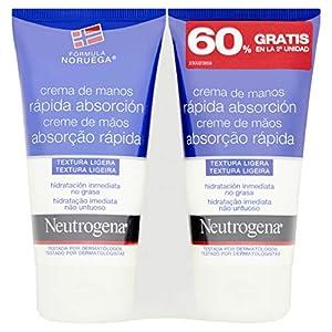 Neutrogena Crema De Manos Rápida Absorción – 2 Unidades x 75 ml.