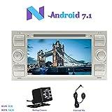 Android 7.1 Car Autoradio, Hi-azul 2 Din Car Audio 7