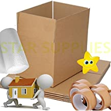 NEW 20 X LARGE Cardboard House Moving Boxes - Removal Packing box - Bubble & Tape STAR SUPPLIES®
