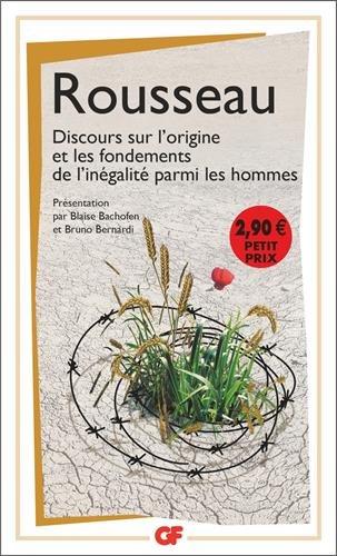 Discours sur l'origine et les fondements de l'inégalité parmi les hommes par Jean-Jacques Rousseau